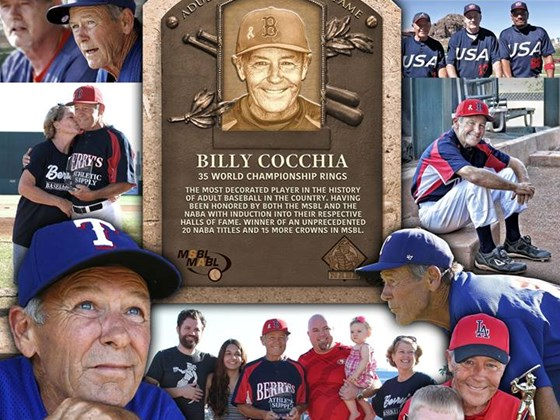 Billy Cocchia MSBL Hall of Fame